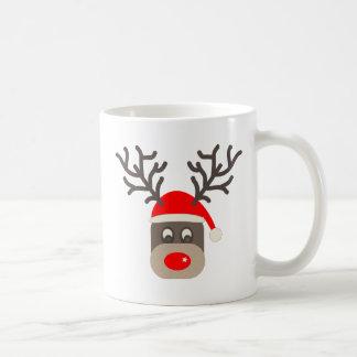 Santa Rudolf Coffee Mug