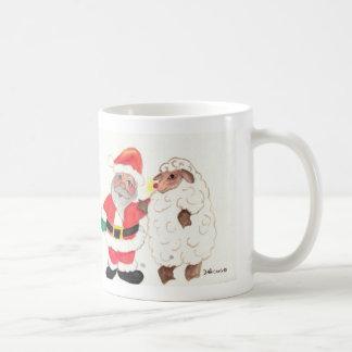 Santa Rudolph Ewe mug