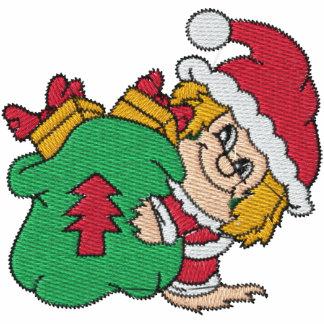 Santa s Elves Embroidered Shirt