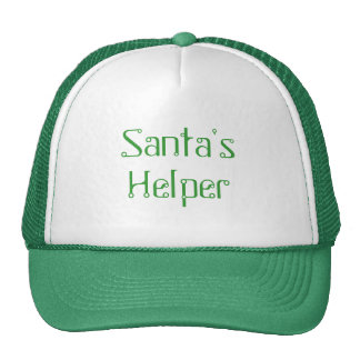 Santa s Helper Hat - Green