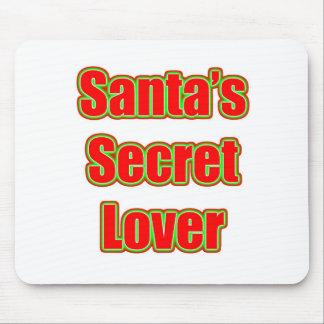Santa s Secret Lover Mouse Pads
