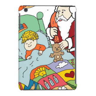 Santa s Visit II iPad Mini Cover