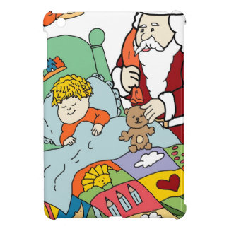 Santa s Visit II iPad Mini Cases