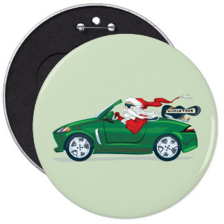 Santa s World Tour Convertible Buttons