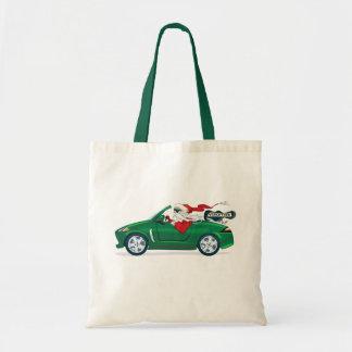 Santa s World Tour Convertible Canvas Bags