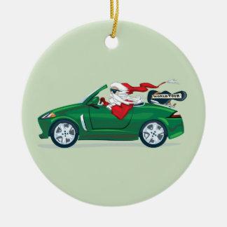 Santa s World Tour Convertible Christmas Ornament