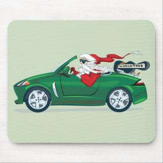 Santa s World Tour Convertible Mouse Pads
