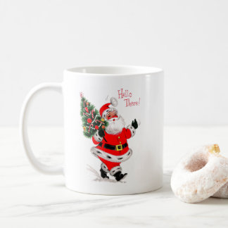 Santa Says Hello Coffee Mug
