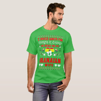 Santa Sent Ghanaian Wife Christmas Ugly Sweater