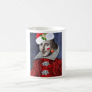 Santa Shakespeare Coffee Mug