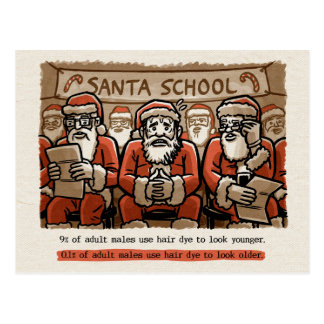 Santa Sham Postcard