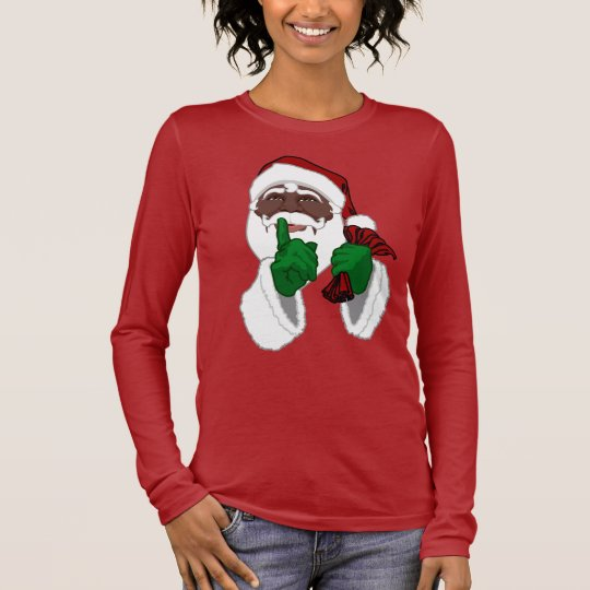 Santa Shirts African American Santa Clause T-shirt