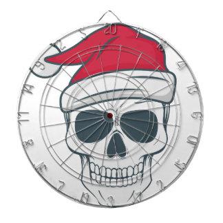 santa-skull dartboard