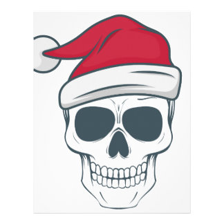 santa-skull letterhead