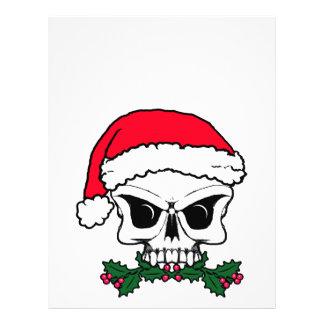 Santa skull letterhead
