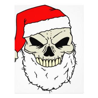 Santa Skull Customized Letterhead
