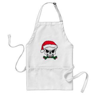 Santa skull standard apron