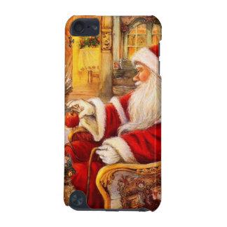 Santa sleigh - Santa claus illustration iPod Touch 5G Case