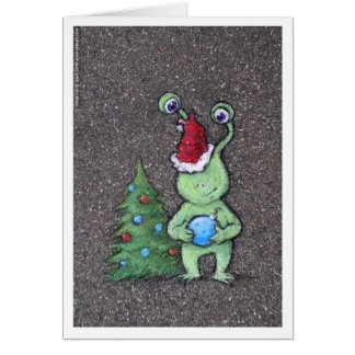 santa sluggo card