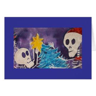 Santa & Son Card