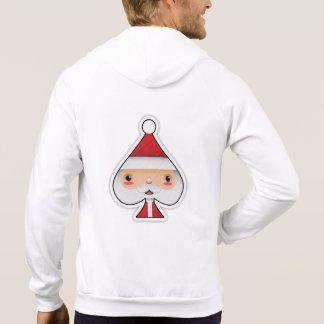 Santa Spade - Zipper Hoodie