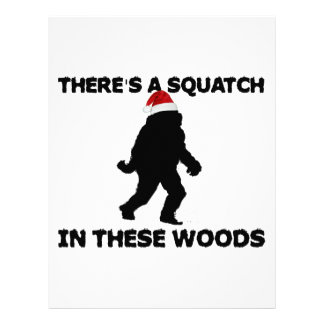 Santa Squatch Personalized Letterhead