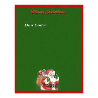 Santa Stationary Personalized Letterhead