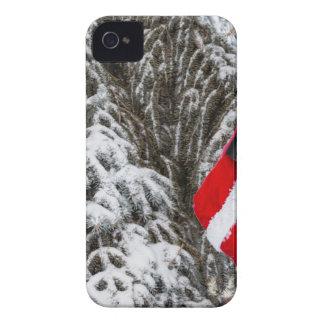 Santa Stocking iPhone 4 Case-Mate Cases