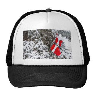 Santa Stocking Trucker Hat