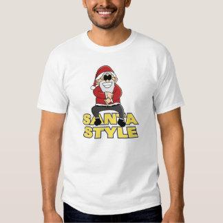 Santa Style T Shirt
