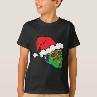 Santa Sugar Skull T-Shirt