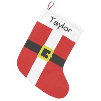 Santa Suit | Christmas Small Christmas Stocking