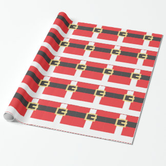 Santa Suit Wrapping Paper