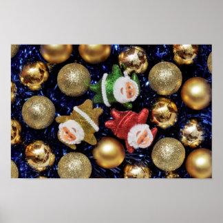Santa Super resting Print
