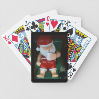 ***SANTA TAKE A BREAK*** PLAYING CARDS