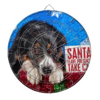 Santa take cat dartboard