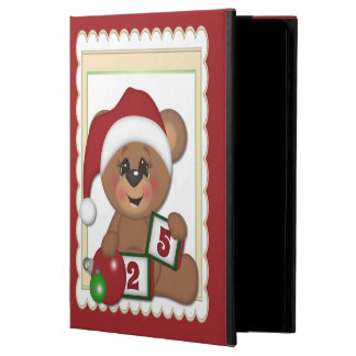 Santa Teddy Bear Case For iPad Air