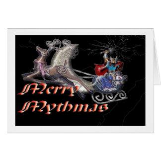Santa Thor Card