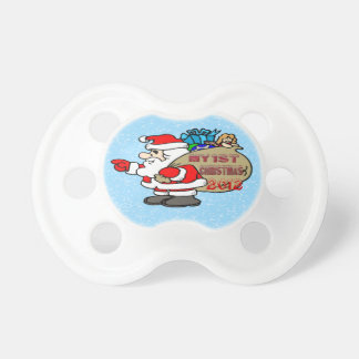 Santa Toy Bag - Baby's 1st Christmas Pacifier