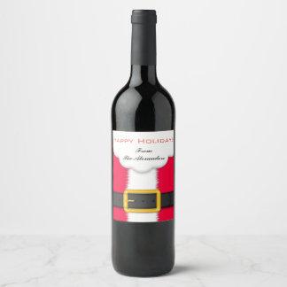 Santa  Wine Label