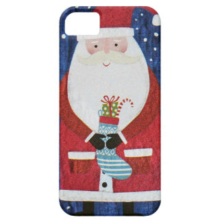 Santa with Stocking Case For The iPhone 5