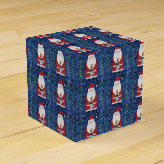 Santa with Stocking Favor Box