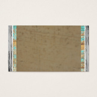 Santafe South Western Rustic Brown Business Cards
