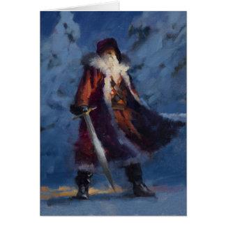 Santaman holiday card