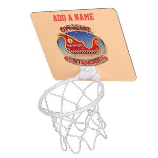 SantaMobile Mini Basketball Hoop