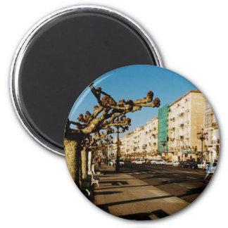 Santander 2 Inch Round Magnet