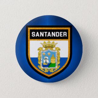 Santander Flag 2 Inch Round Button