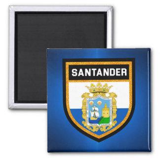 Santander Flag Square Magnet