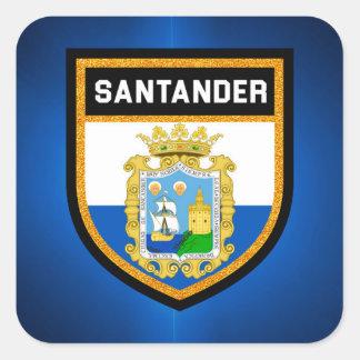 Santander Flag Square Sticker