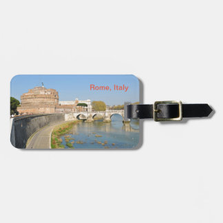 Sant'Angelo Castle in Rome, Italy Bag Tag